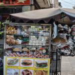 Banh Mi Stand in Saigon